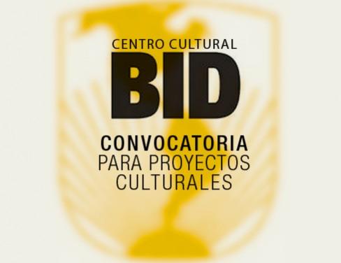 LANZA EL BID CONVOCATORIA PARA APOYAR PROYECTOS CULTURALES