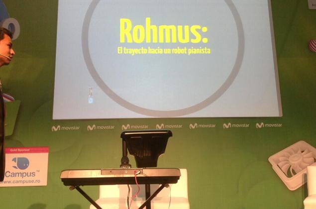 ROHMUS: EL ROBOT PIANISTA MÁS AVANZADO DEL MUNDO, HECHO EN MÉXICO